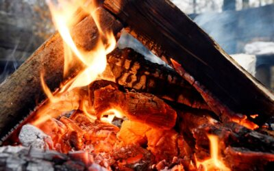 Åben ild og hyggeligt lejrbål
