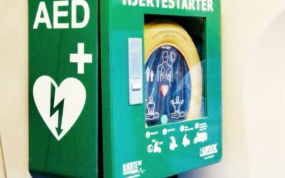 Hjertestarter kan redde liv