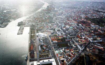 København set med drone