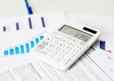 Skarpt og professionelt billede til din regnskabshjemmeside