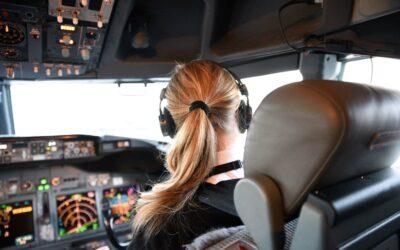 Kvindelige piloter tager førersædet