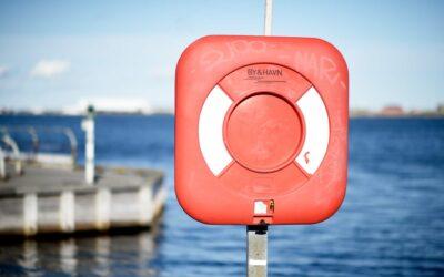 Redningskranse øger sikkerheden markant omkring havne og søer