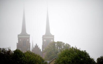 Domkirken i Roskilde med de smukke karakteristiske spir