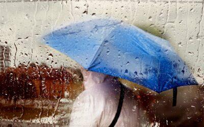Regn over Danmark