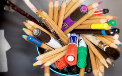 Få kreativiteten til at blomstre med blyanter og tusser