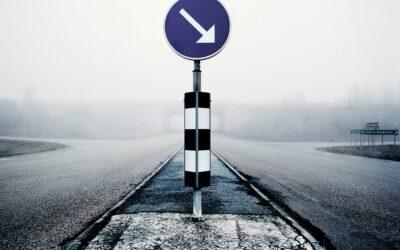 Hvilken vej skal man gå?