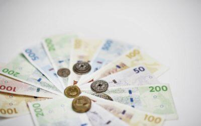 Danske pengesedler i høj kurs