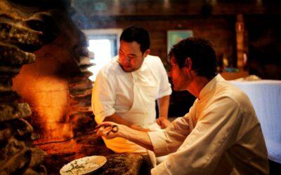 Chefs, David Chang and Daniel Petterson