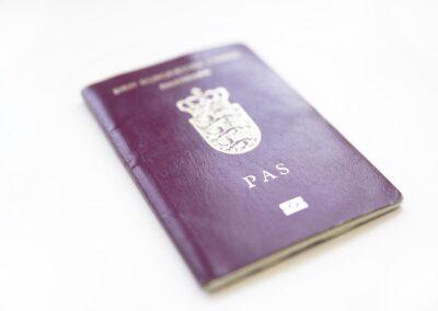 Dansk pas åbner døre til mange steder