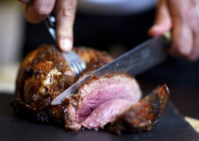 Saftigt stykke kød